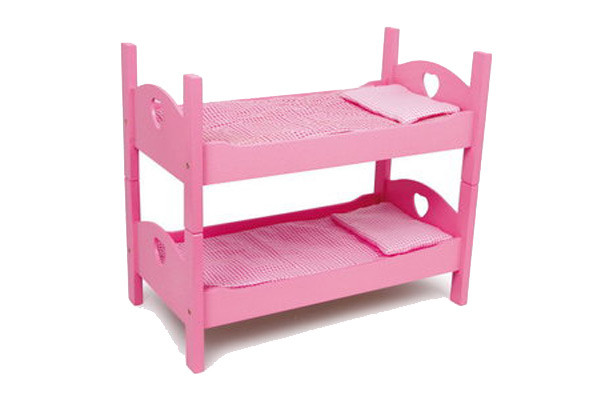 Stapelbed roze